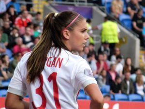 alex morgan us soccer player - Alex Morgan also play volleyball, basketball, and track