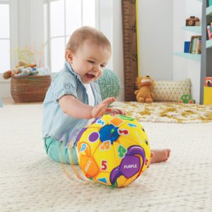 Kid enjoying fun games to play with a soccer ball