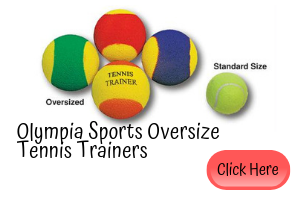 Olympia Sports Oversize Tennis Trainers