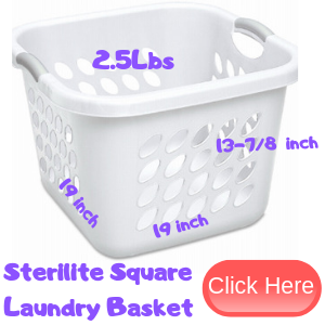 Laundry Basket For Kids Play
