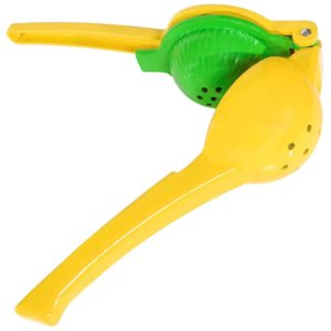 Two Sisters New Zealand Citrus Squeezer Two in One Tough Enameled Aluminum Citrus Juicer with Lemon Lime Squeezer