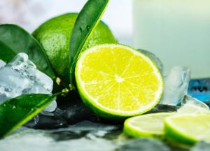 Slices of lime
