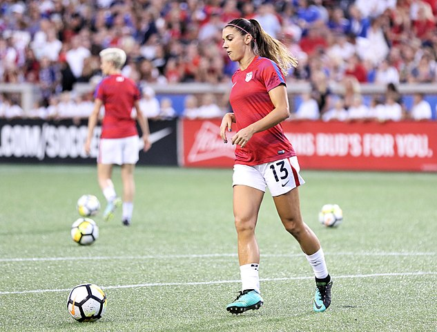 Alex Morgan inspired a lot of girls in the US to play soccer