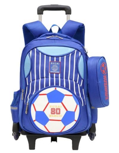 Best Soccer Gifts For Kids - Adanina Soccer Trolley Backpack