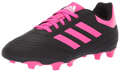 soccer shoes for kids - Adidas Kids' Goletto Vi Firm Ground Football Shoe