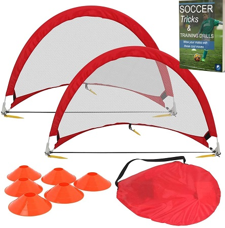 kids soccer training equipmentt - Coolekom Soccer Practice Equipment for Kids