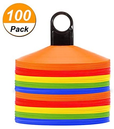best soccer training gear - Disc Cones Agility Soccer Cones