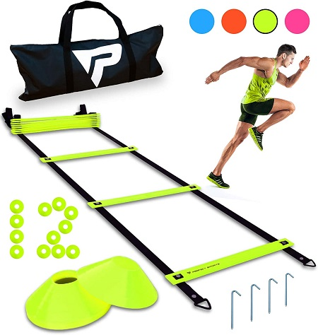 best soccer equipment - Pro Agility Ladder and Cones