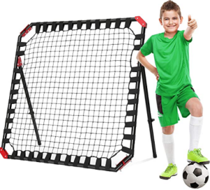 Best Soccer Training Equipment - Easy Playz Portable Soccer Rebounder