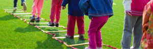 Ladder agility drills for kids