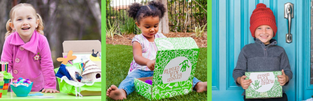 Green Kid Crafts Review Banner