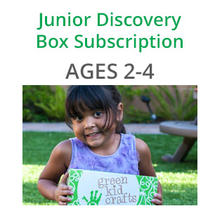 Green Kid Crafts Review - Junior Discovery Subscription Box