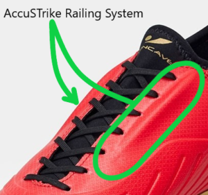 Concave Soccer Cleats - AccuStrike