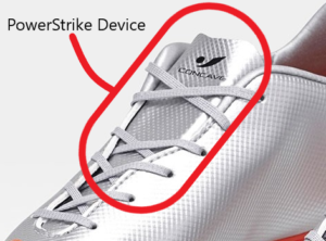 Concave Soccer Cleats - The Powerstrike device