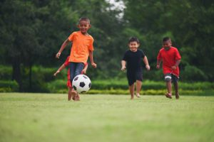 What Is The 1000 Soccer Touches - Kids playing soccer