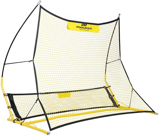 Best Soccer Rebounders - PodiuMax Upgraded Portable Soccer Trainer