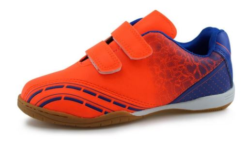 hawkwell hook and loop indoor soccer shoes