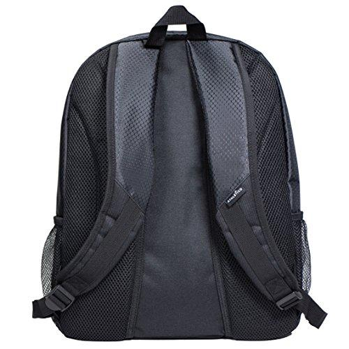 Athletico youth soccer backpack back view